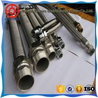 Wholesale Chinese supplier 3/4  inch multiple stainless steel wire braided layers corrugated Metal conduit hose from china suppliers