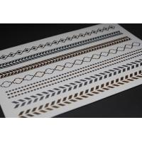 Wholesale Silver metallic foil tattoo from china suppliers