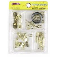 China 45PC Picture Hanger Kit(ZY4006,Hook Set,Fastener) on sale