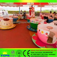 China HENAN TOPS Amusement Park coffee cup rides\ tea cup rides for sale on sale