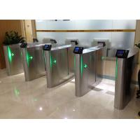 Wholesale Security Sliding Speed Gates Turnstile Accurate Logical Judgment Barrier Access from china suppliers