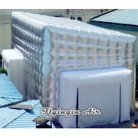Buy cheap 7m Pvc Silvery Inflatable Cube Tent for Exhibition and Trade Show from Wholesalers