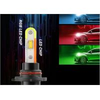 Wholesale RGB Series LED Headlight Bulb 60W 6000LM High Speed Mute Fan With App Control from china suppliers