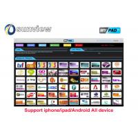 Wholesale Vod Support Indian Iptv Subscription 1 / 3 / 6 / 12 Months Online English Channels from china suppliers