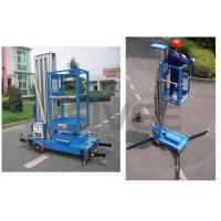 Wholesale Aluminium Alloy Hydraulic Single Mast Lift Platforms 6m Platform Height from china suppliers