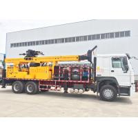 Wholesale DTH Truck Mounted Water Well Drilling Rig Machine 600m Full Hydraulic Type from china suppliers