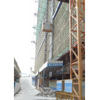 China 3 Doors SC200BZ Building Lifts Elevators , Rack Pinion Lift Max Lifting Height 450M for sale