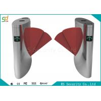 Wholesale Intelligent Metro Red Wings IR Sensor  Flap Barrier Gate Max  Lane Width 600mm from china suppliers