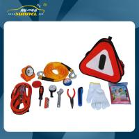 Wholesale Car Emergency Kits With Jumper Cables / Reflectors / Flashlight from china suppliers