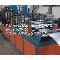 Buy cheap 11Kw GI 2MM Thickness Frame Roll Forming Machinery For Making Fire Damper Frame 292mm from wholesalers