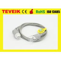 Buy cheap Datex SpO2 sensor cable medical device accessories Round 10pin to DB9 Female from wholesalers
