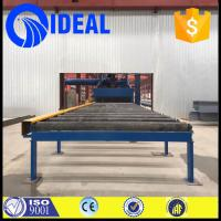 Wholesale industrial used shot blasting machine for surface derusting of the steel plate and steel structures from china suppliers