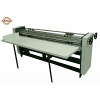 Quality Manual Feeder Slitting Cutting Creasing Machine / Slitter Cutter Creaser for sale