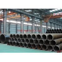 Wholesale ASTM A53Gr.B / API 5L Gr.B LSAW steel pipes / tubes sch 120 carbon steel pipe for building material with black painting from china suppliers