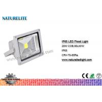 Buy cheap IP65 Led Flood Light White , High Power Led Flood Lights Outdoor 20W  Corrosion Resistant  Silicone Gaskets from Wholesalers