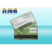 China High Frequency 13.56MHz Contactless RFID Card with Magnetic Strip on sale