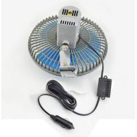 Quality 8 Inches Oscillating Car Fan DC 12V With Switch For cars / trucks for sale