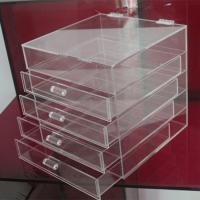 Wholesale Hot clear 6 drawer  perspex / acrylic makeup organizer for wholesale from china suppliers