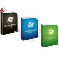Buy cheap Microsoft Win 7 Pro Coa Sticker / Upgrade Product Key Full Package from wholesalers