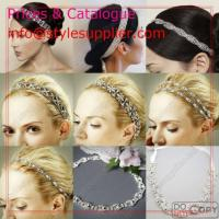 Wholesale Bridal Headbands, Wedding Headbands, Rhinestone Headbands, Hair Accessory from china suppliers