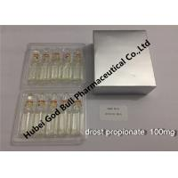 Wholesale Drostanolone propionate Muscle Growth Steroids anpoule bottle Drolban from china suppliers