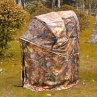 Wholesale Pro Hunting Chair One Man Ground Blinds Real Tree Camo Tent for Deer Turkey , Duck from china suppliers