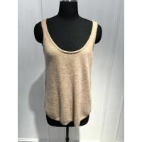 Wholesale Women Crew Neck Cashmere Sweater Vest Spring / summer Soft Handfeel 12gg Guage size from china suppliers