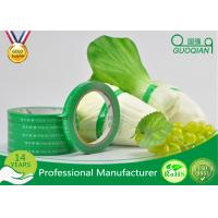 Wholesale Waterproof Printed Carton Sealing Tape , Food Grade Custom Printed Duct Tape For Vegetable from china suppliers