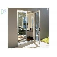 Wholesale Glass Hinged Aluminium Casement Door For Commercial and Residential from china suppliers