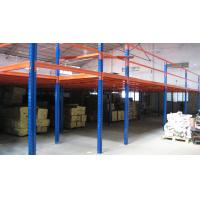 Wholesale Multi functional Mezzanine Racking System , Steel Mezzanine Floor With Stair And Goods Elevator from china suppliers