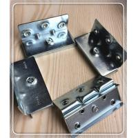 High Safety Screw Hook Hinge , 8 Inch Strap Hinge Bed Hinges Corner Brackets for sale