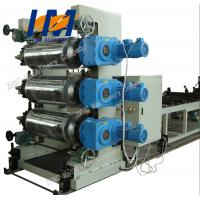 Wholesale 380V Plastic Sheet Extrusion Line , PVC Plastic Sheet Making Machine from china suppliers