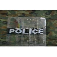Wholesale 3mm Thickness PC Solid Double Handles Polycarbonate Police Riot  Shield from china suppliers