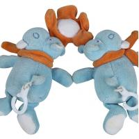China Delicate Hanging Newborn Plush Toys Soft Feeling With Embrodiery Eyes on sale