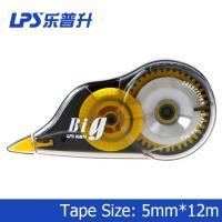 China Colored Correction Roller Titanium dioxide 12m Yellow Correction Tape 965 on sale