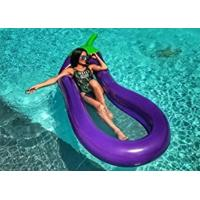 China Giant Inflatable Water Floats Purple Eggplant Pool Float Toys WF-31 on sale