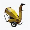 Buy cheap Adjustable 13HP Industrial Wood Shredder Gardening Machines Horizontal Wood Chipper from wholesalers