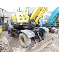 Quality Used HYUNDAI R60W-7 mini Wheel Excavator For Sale for sale