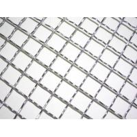 China ss304 304L 306 306L stainless steel crimped woven mesh10x10mm crimped wire mesh for sale