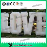 Wholesale Customized Party Nylon Cloth Red Inflatable Decoration / Inflatable Letters from china suppliers