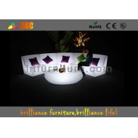 Wholesale 16 Colors Changeable LED Bar Tables / Illuminated round bar table from china suppliers