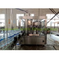 Wholesale SS304 500ml Water Bottle Filling Machine Mineral Water Plant 380V / 50Hz from china suppliers
