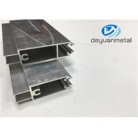 Quality GB 5237-2008 Mill Finished Aluminium Door Frames 6000 Series Aluminium Door Profiles for sale