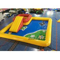 Wholesale 6 * 6 * 0.65M Inflatable Swimming Pool / Large Inflatable Pool Toys For Kids from china suppliers