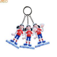 China Personalized Cool PVC Key Chain  Small Size 3.5 Inches Height on sale
