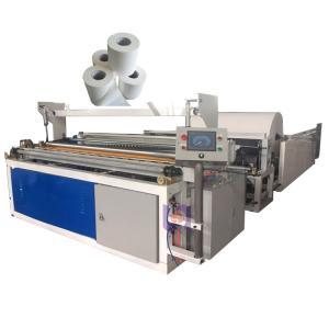 China 10m/Min 2 T/D 45g/M² Paper Roll Slitter Rewinder on sale
