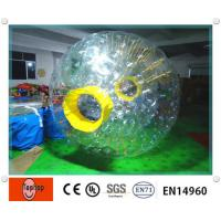 China Giant Environmental Inflatable Zorb Ball / water zorb ball for Entertainment water games on sale
