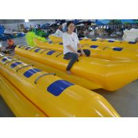 China Customized Triple Welding Inflatable Water Toys / Blow Up Double Banana Boat on sale