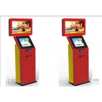 Wholesale Trade Show Stainless Steel Self Check In Kiosk 32 Inch Dual Screen Custom Brand Name from china suppliers