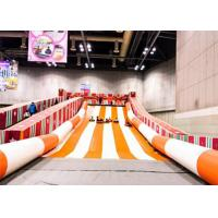 Wholesale Outdoor Wet Longest Giant Inflatable Slide With 0.9mm PVC Tarpaulin Slide from china suppliers